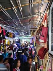 Este mercado se pone en febrero a lo largo de una calle del Parque Burnham
