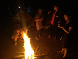 Junto al fuego