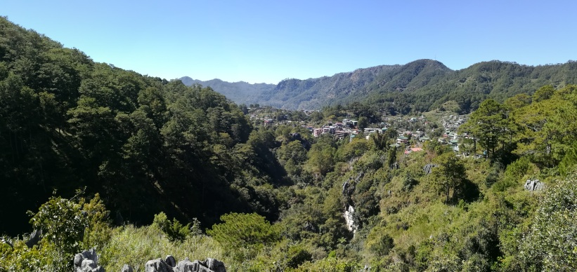 Panoramica desde Echo Valley