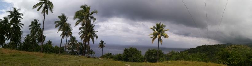 Subido a la 1. colina del monte Lanaya