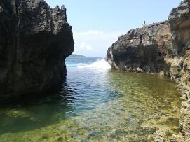 Una piscina natural en la zona