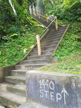 Aún tengo 1440 escaleras por delante