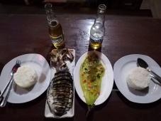 Cenando en Baclayan
