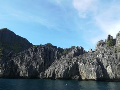 Caliza de las islas de El Nido