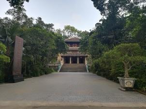 Templo desde el exterior