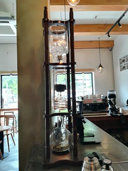 Un Cafe frio