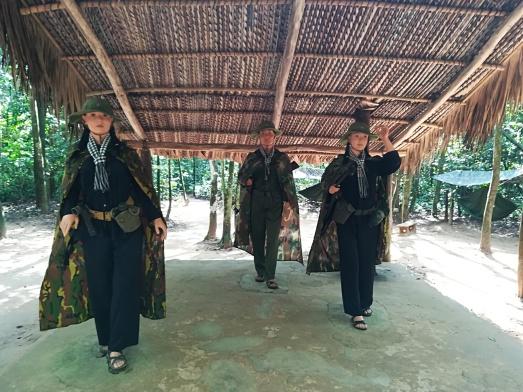Vestimenta del ejercito del VietCon