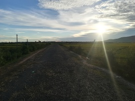 Carreteras al atardecer
