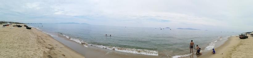 Playas de Hoi An, parece el mediterraneo