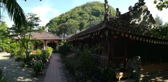 Una de las diferentes Pagodas que hay