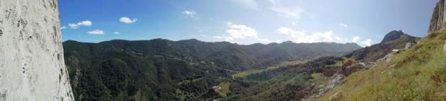 Panoramica desde la base