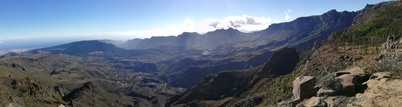 Vista del valle colindante