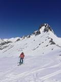 Cresteando hacia el pico Fastxalba