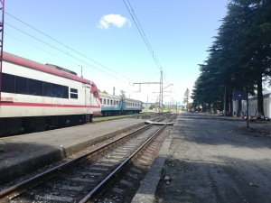 Estación de tren de Zugdidi