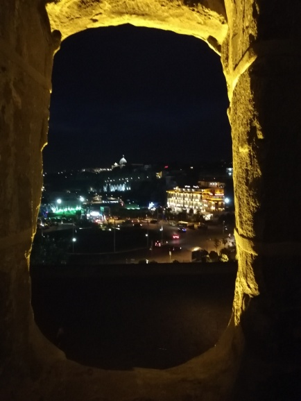 Tbilisi in the night