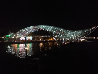 Tbilisi in the night