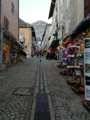 La calle más turística del la partes vieja