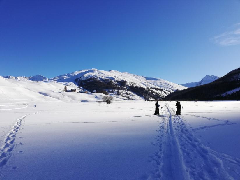 El valle con más de 7km de largo con pistas de esquí de fondo