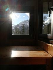 Siempre se agradece el solico por la ventana en invierno